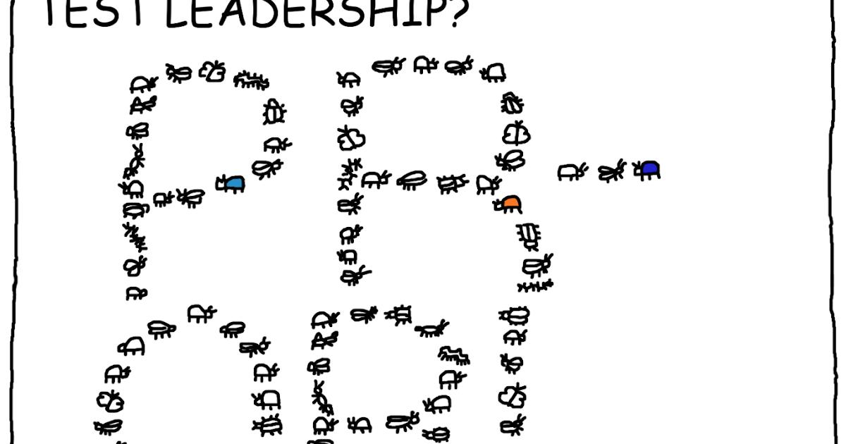 Cartoon Tester: Test Leadership