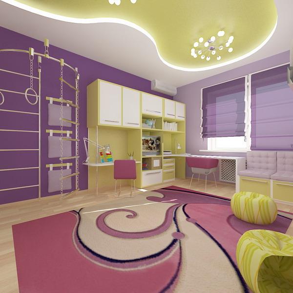 Interior Design Bright Living Rooms: Bright Interiors Children's Rooms And Cool Designs For