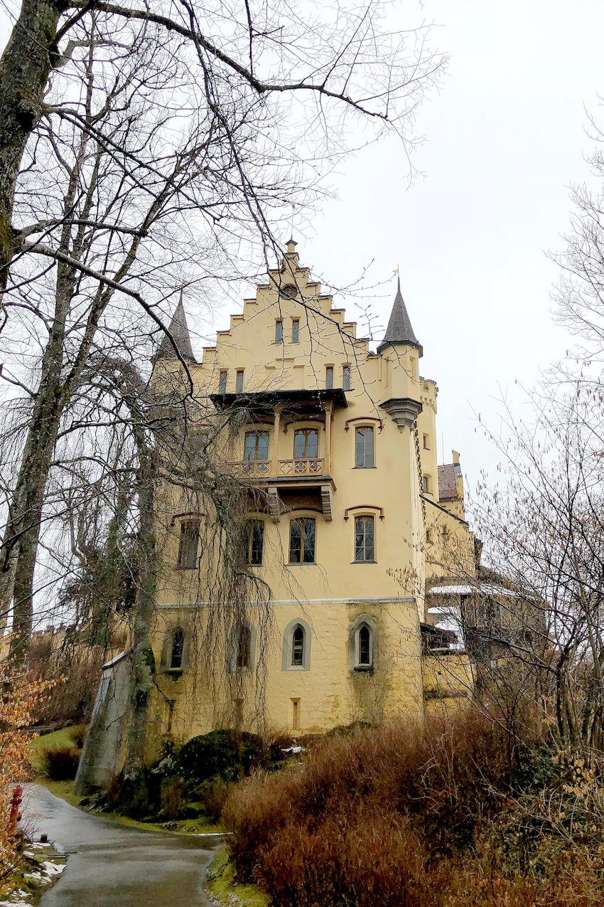 Der Aufstieg nach Schloss Hohenschwangau