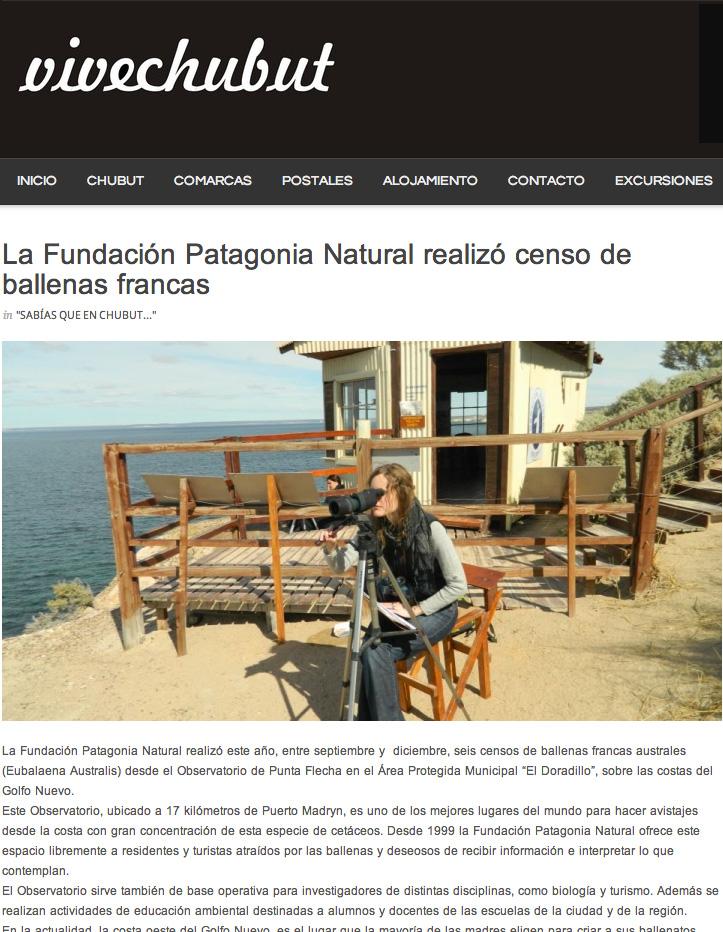 observatorio de ballenas en El Doradillo