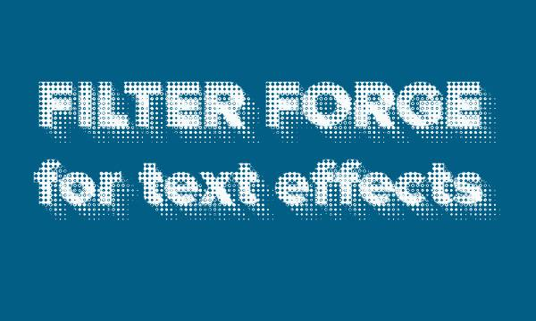 Filter Forge Filters For Text Effects