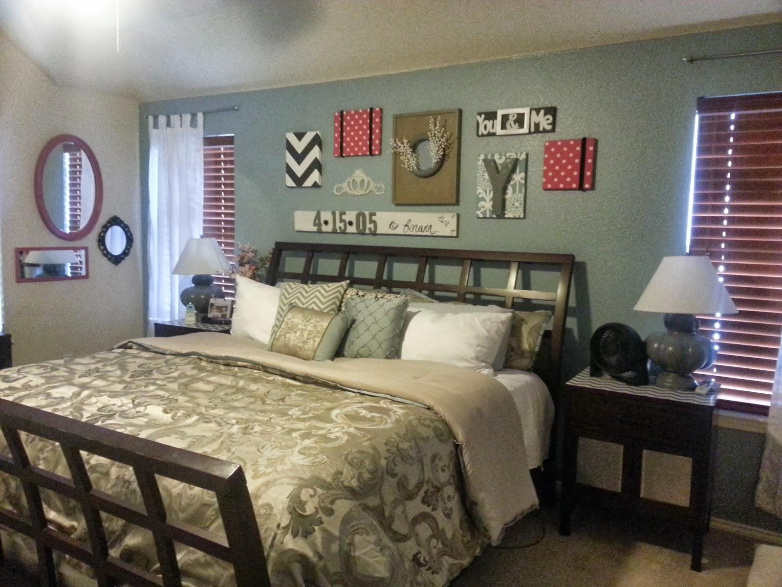 DIY Master Bedroom Decor Update