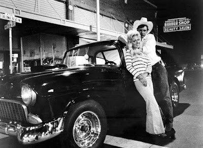 Harrison Ford y su Chevy 1955 en American Graffiti