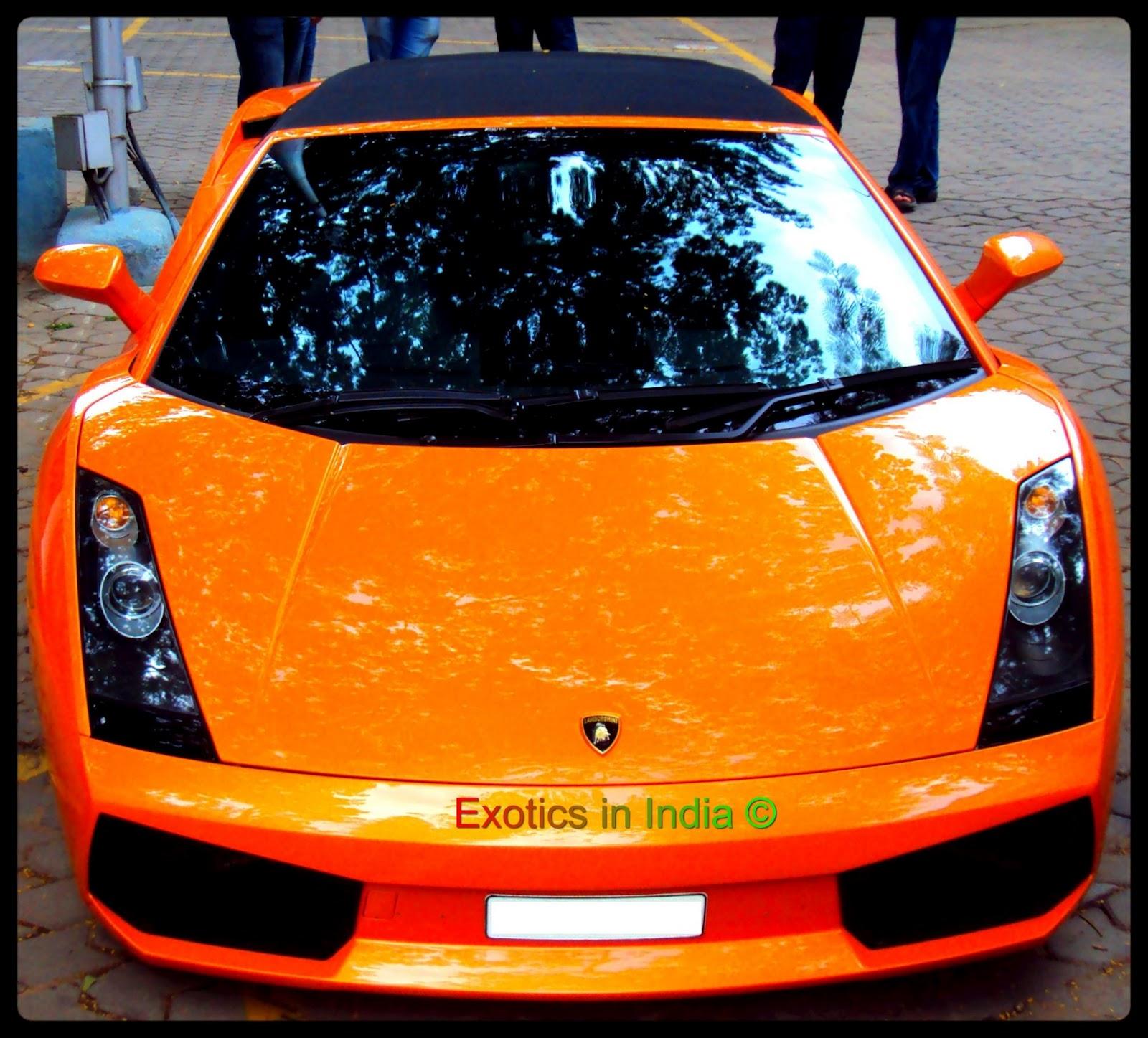 Lamborghini India Autocar