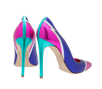Dsquared Pattern Leather Pumps