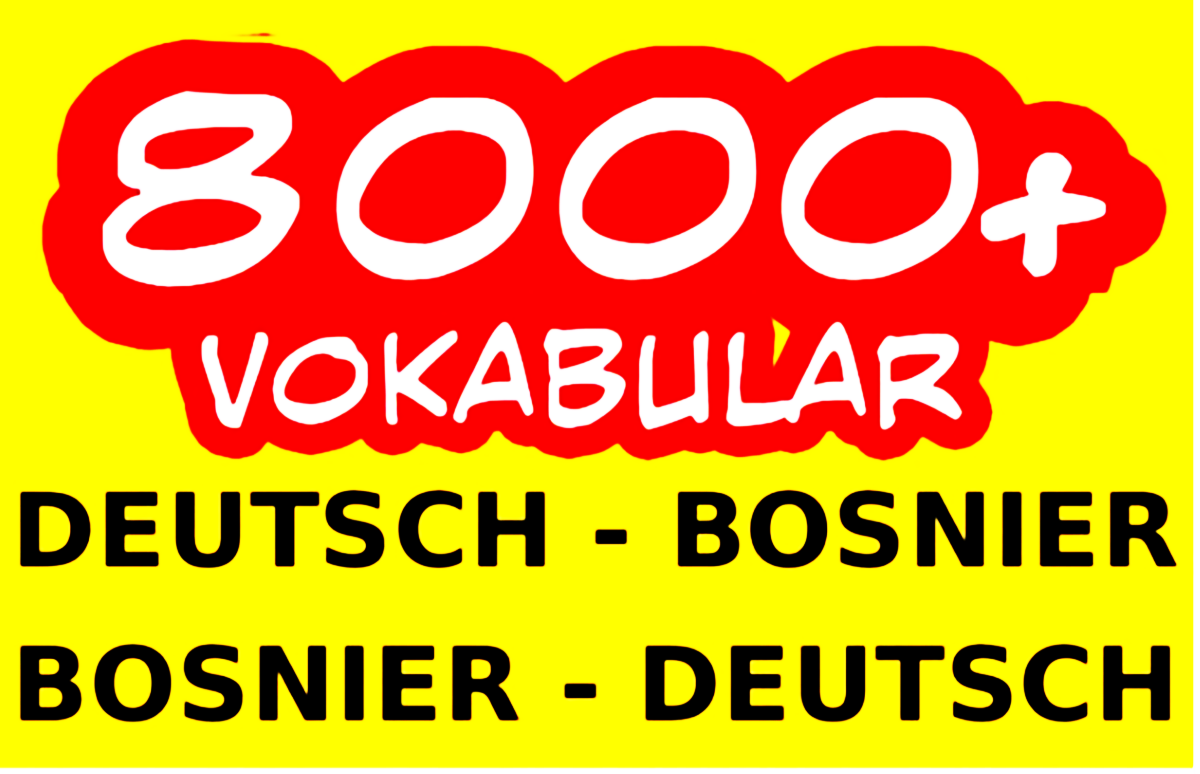 njemacko bosanski rijecnik