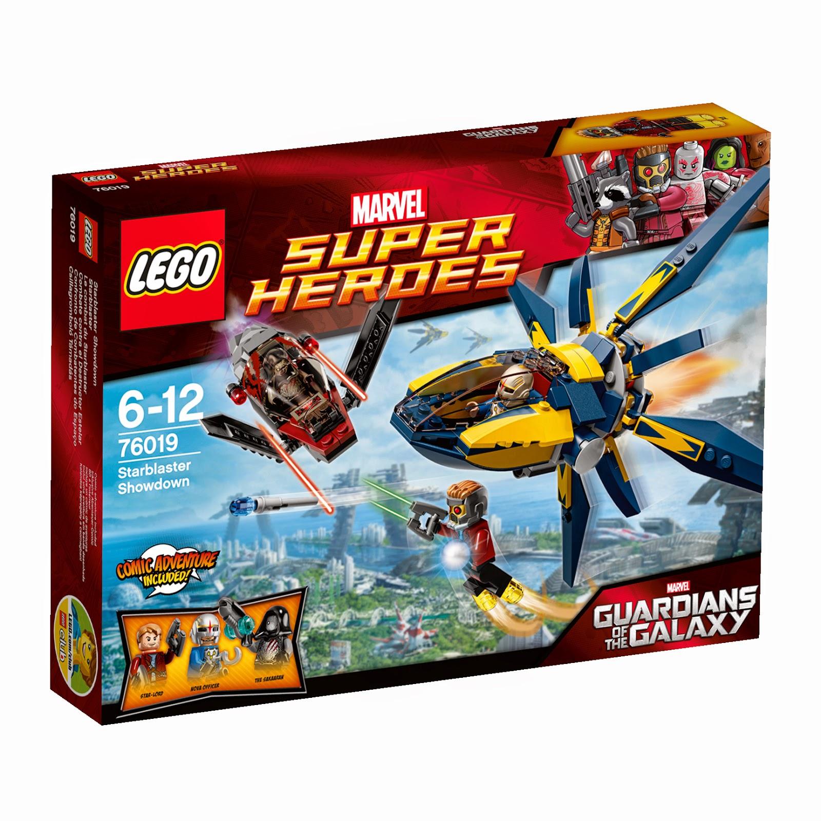 Pack sorteo LEGO MARVEL GUARDIANES DE LA GALAXIA