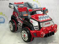 Mobil Mainan Aki Pliko PK9900N GMH XL Black/Red