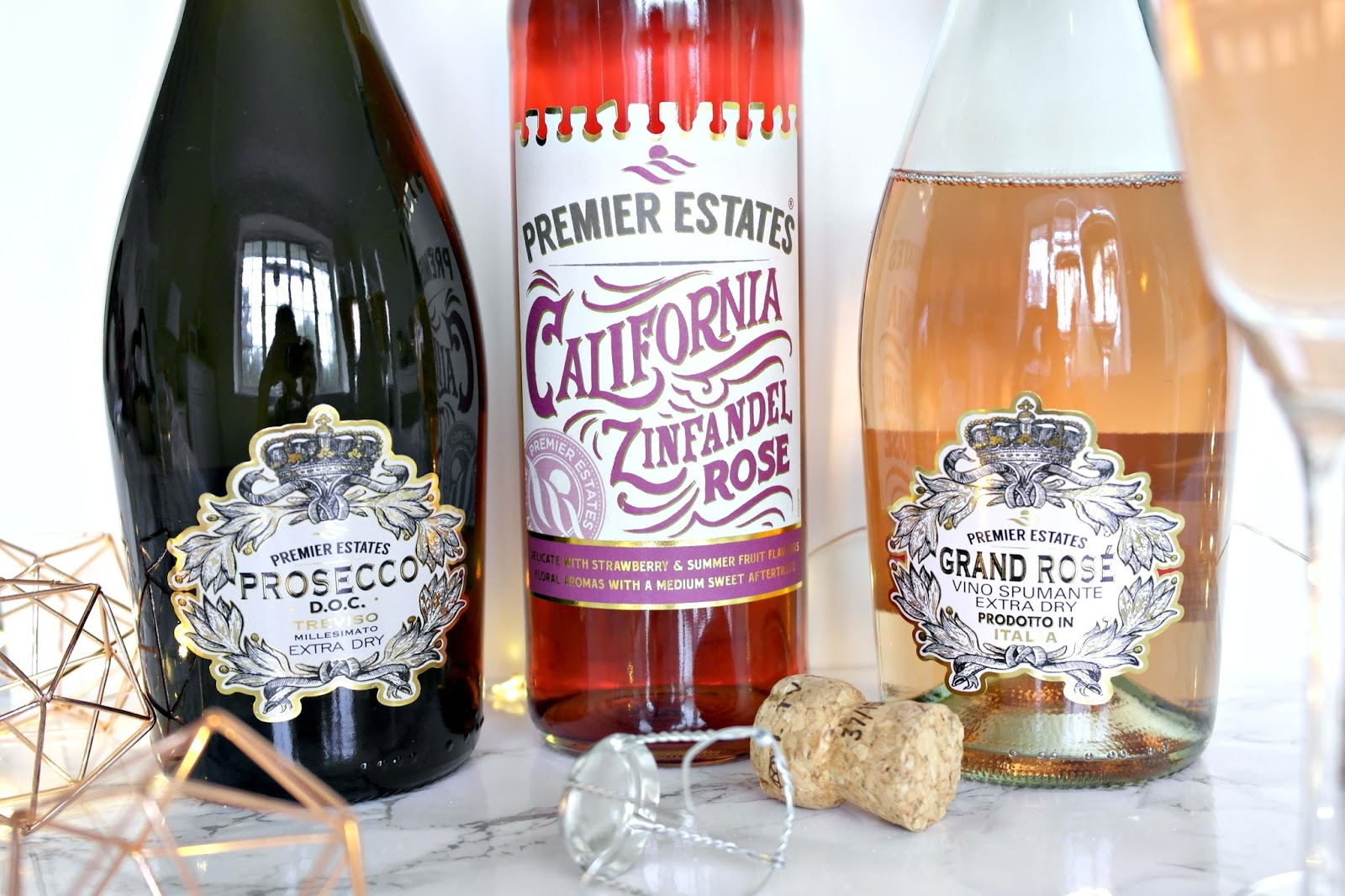 Premier Estates Grand Rose Sparkling Wine, prosecco, review