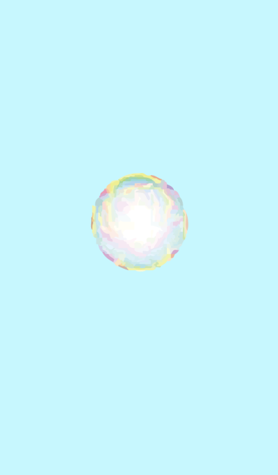 Soap bubble..