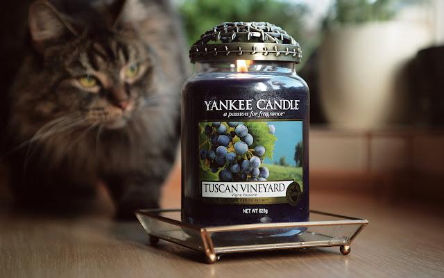 Tuscan Vineyard Yankee Candle - Czytaj więcej »