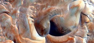 formas monstruosas desierto dunas áfrica, calor, arena, color