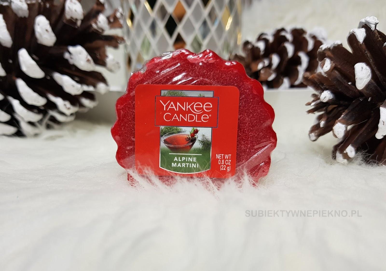 Alpine Martini Yankee Candle. Zapach niedostępny w Polsce. Blog, opinie.