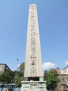 Obelisco de Teodosio, hipódromo de Estambul