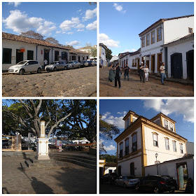 andando pelas ruas de Tiradentes até o Largo das Forras