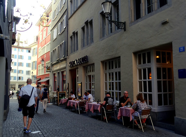 Marktgasse Niederdorf Quarter Zurich Old Town