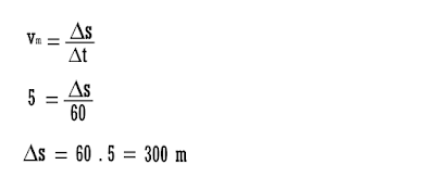 equação da velocidade média