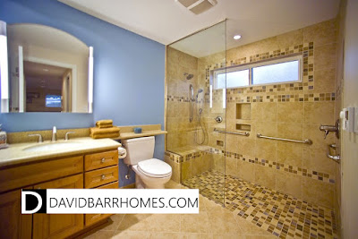 Venice FL new homes walk in shower