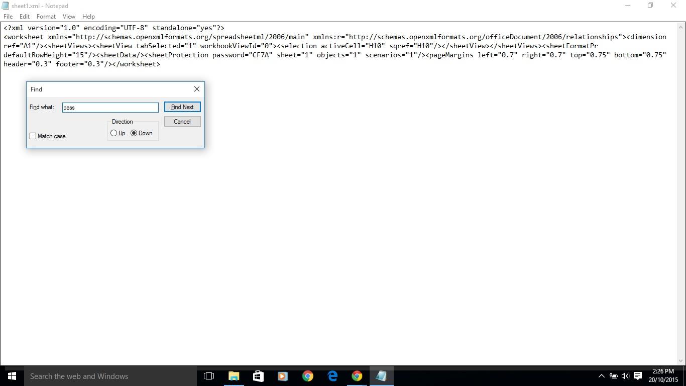 My Blog Remove Excel Worksheet Password