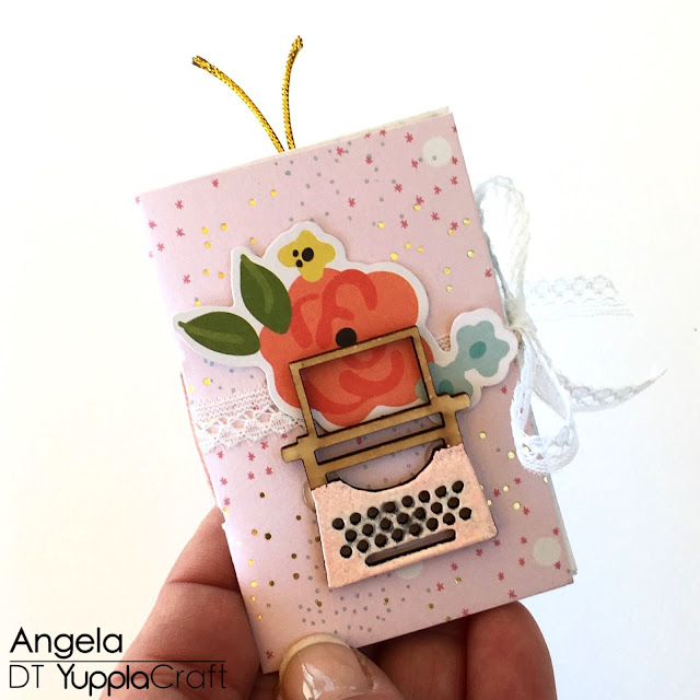 Pocket Letter by Angela Tombari for Yuppla Craft DT