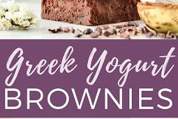 LOW CARB,Healthy Greek Yogurt Brownies