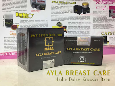 ayla breast care gambar