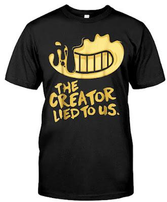 Bendy And The Ink Machine T Shirts Hoodie Sweatshirt