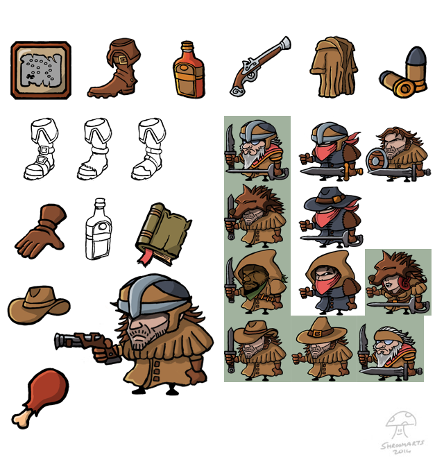 gravebound items