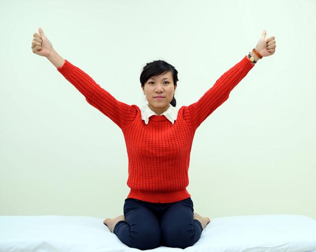 Yoga- Hết ngay tê bì chân tay