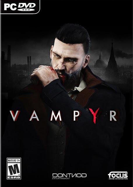 تحميل لعبه Vampyr  Update 3 + DLC9  2018 للكمبيوتر