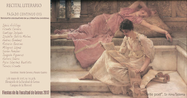 """Recital literario: """"Pasado continuo (III)"""""""