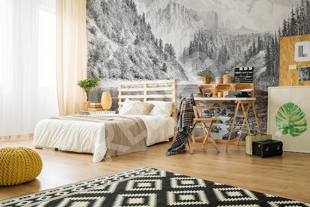 HOME: Fototapeta z górami – szybki sposób na efektowną zmianę.