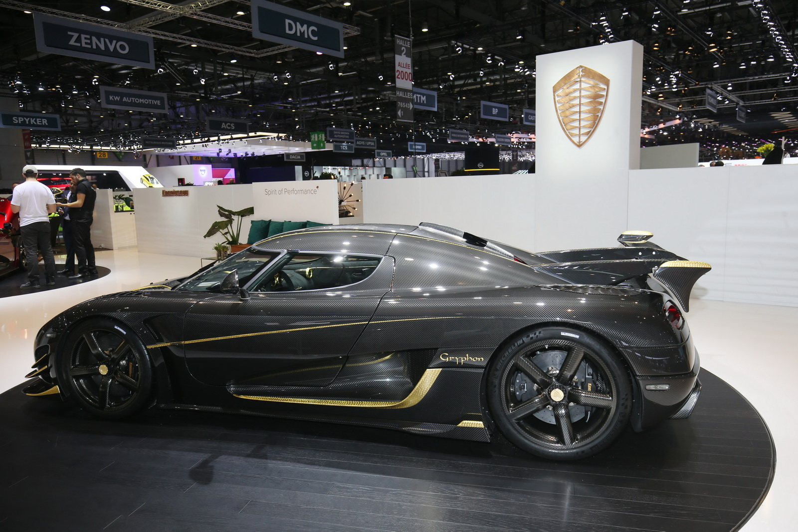 Real Gold And 1,360HP: It's The One-Off Koenigsegg Agera RS Gryphon