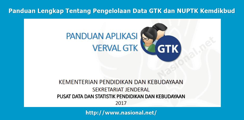 Pengelolaan Data GTK dan NUPTK Kemdikbud