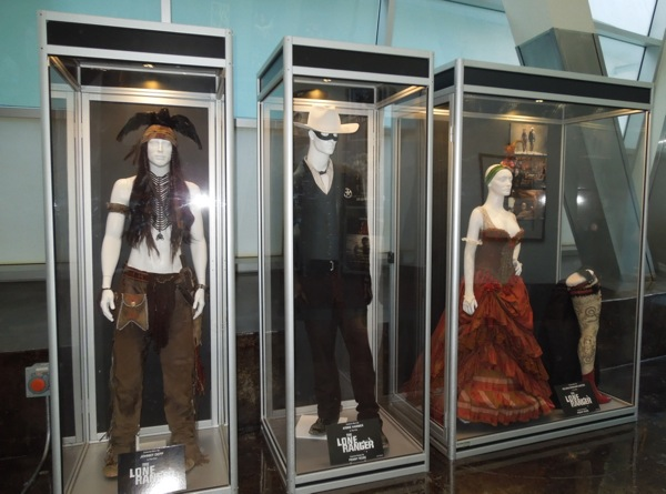 Disney Lone Ranger movie costumes