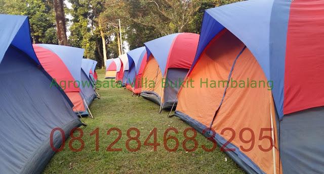 Lokasi Camping Hemat kawasan Agrowisata Hambalang Sentul