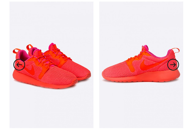 Adidasi dama Nike Sportswear originali rosii
