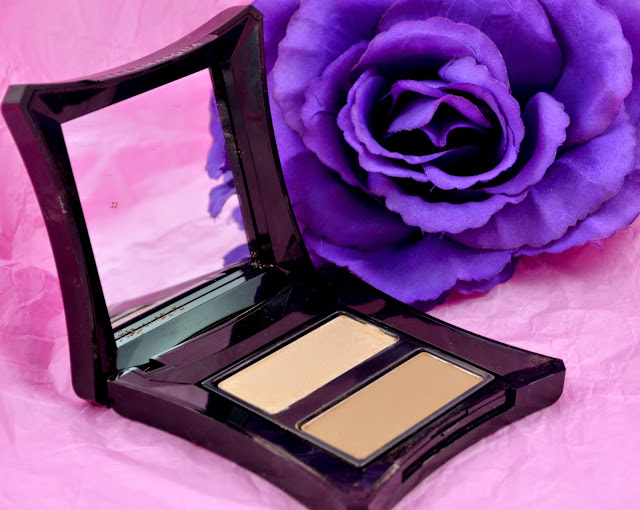 Illamasqua - Sculpting powder duo - contouring - wet and dry - contour kit - highlighter - matte bronzer - swatch - review