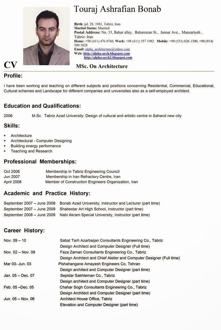 Contoh Curriculum Vitae Untuk Bank Mandiri Website That Will Write