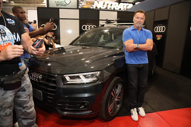 Audi Q5 Security: carro de Arnold Schwarzenegger