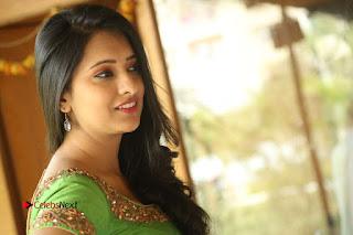 Actress Nikitha Bisht Stills in Lehenga Choli at Pochampally Ikat Art Mela Launch  0448.JPG