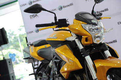Benelli TNT 600i ABS front look pictures