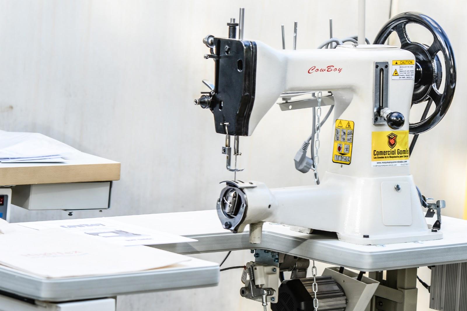 Máquina de coser industriales para trabajos extra pesados