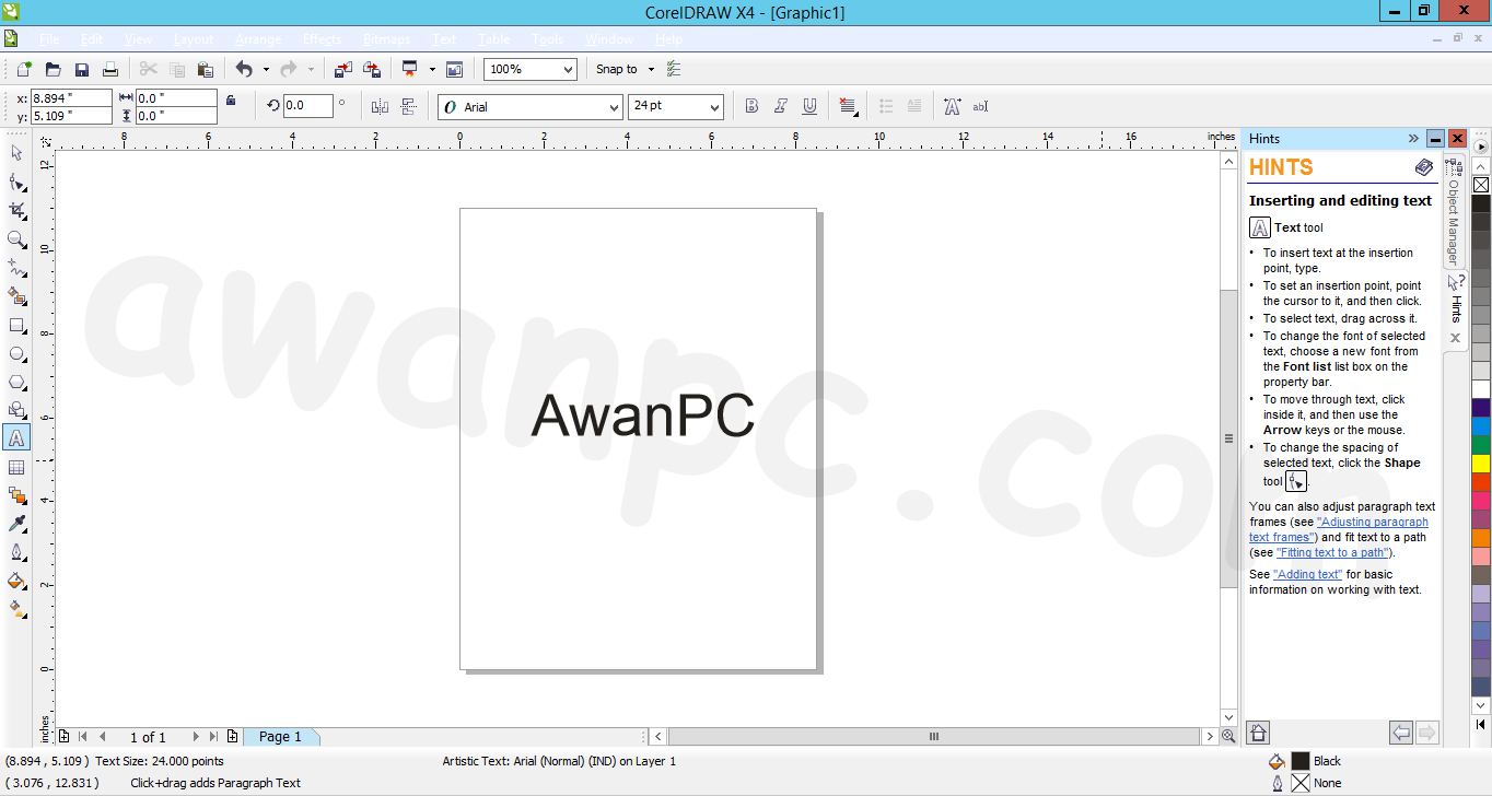 Coreldraw version 12 - Tutorial Aktivasi Coreldraw X4