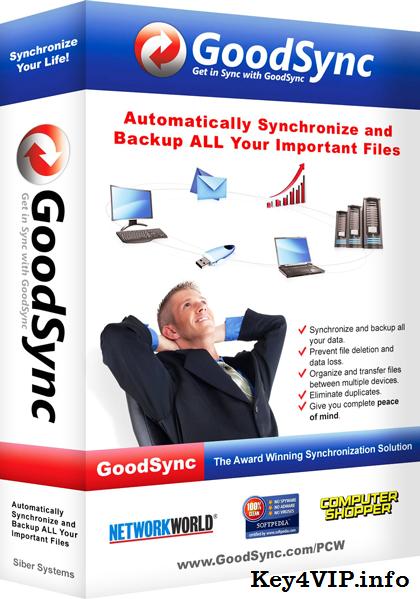 GoodSync Enterprise 9.8.7.7 Full,Sao lưu và đồng bộ dữ liệu
