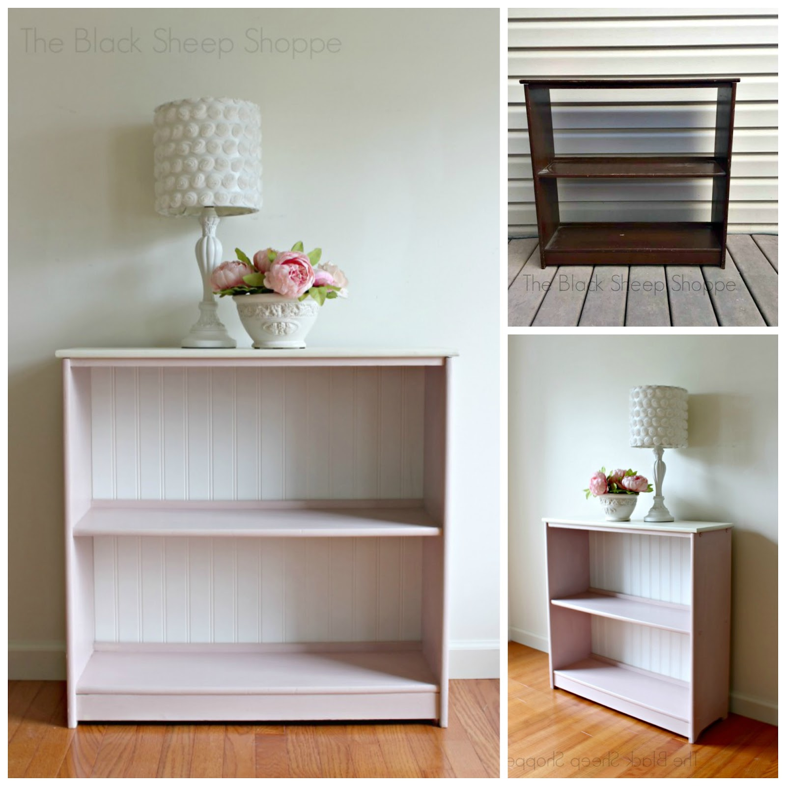 Furniture transformation with paint.