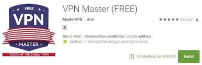 Aplikasi VPN Master (FREE)