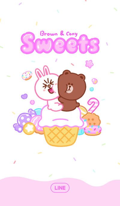 Brown & Cony: Sweets