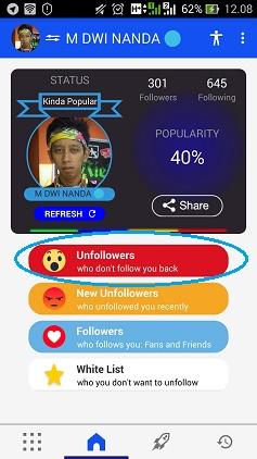 cara menghapus diikuti di instagram