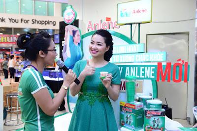 Chia sẻ chăm sóc sức khỏe xương cùng sữa Anlene
